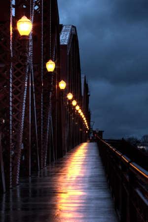 Broadway Bridge at 6 in the morning
