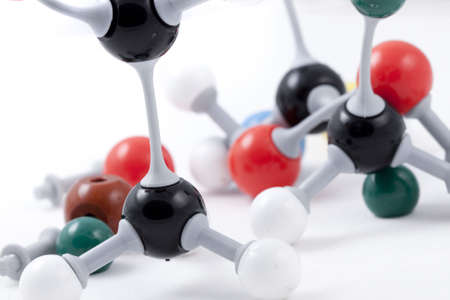 Molecule Structure Chemistry Set Stock Photo