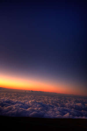Sunrise over the clouds Stock Photo - 6361389