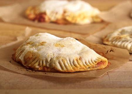 Freshly Baked Calzone