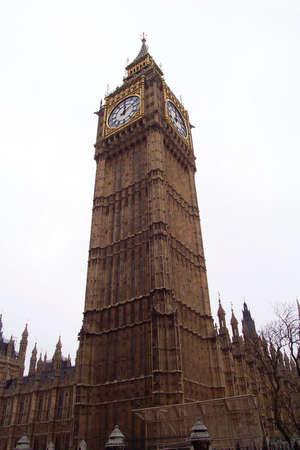 Big Ben in Autumn