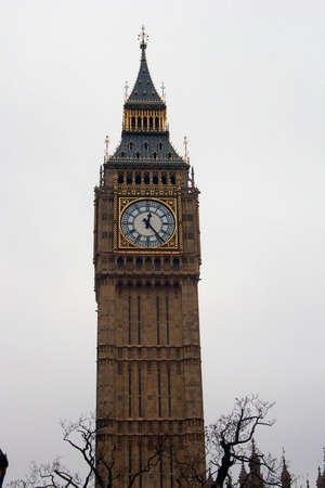Big Ben in Winter Reklamní fotografie