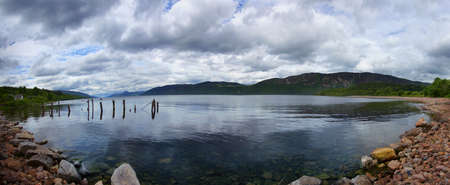 loch ness: Loch Ness Scotland Stock Photo