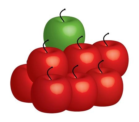 apple - illustration illustration
