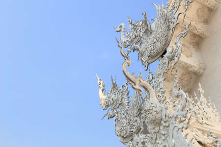 Stucco at Wat Rong Khun in Chiang Rai, Thailand Stock Photo - 13589163