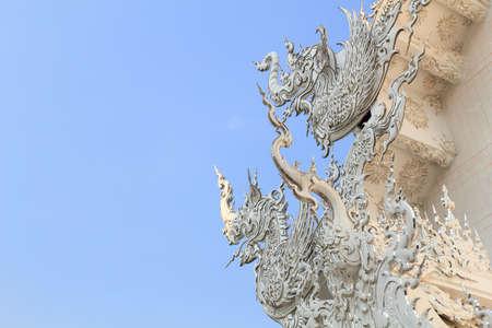 Stucco at Wat Rong Khun in Chiang Rai, Thailand Stock Photo - 13589163