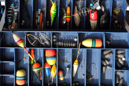 tackles: The fishing equipment