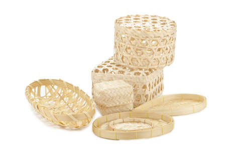 basketry: The Thai basketry Stock Photo