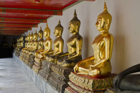 buddha statue in Wat Pho Temple  photo