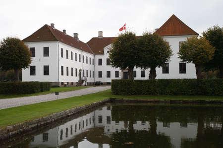 Shot from Clausholm Castle near Randers, Denmark