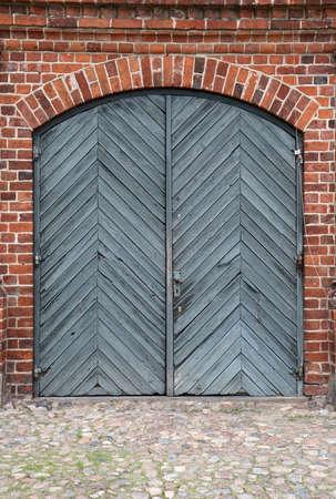 The Gate. From the small Castle Rosenholm near Aarhus, Denmark