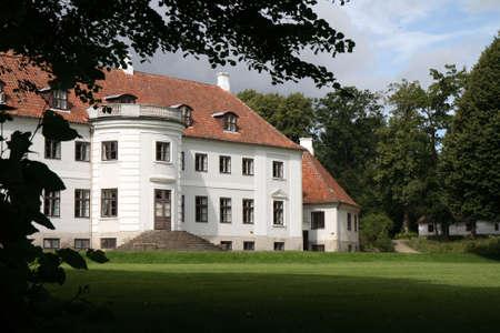 herrenhaus: Das Manor House Moesgaard in der N�he von Aarhus, D�nemark