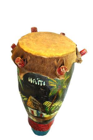 Primitive drum from the island of Haiti
