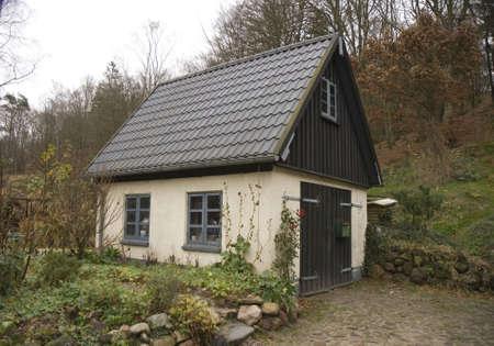 jutland: Small House in the Forest near Skanderborg, Denmark