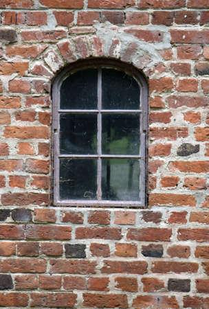 Stable Window. From Gammel Estrup, The Jutland Manor House Museum, Denmark