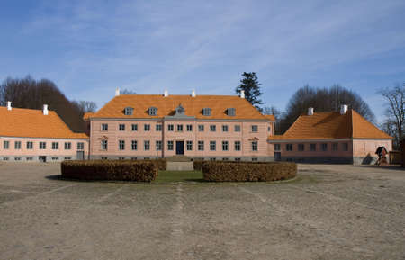 herrenhaus: Das Herrenhaus Moesgaard in der N�he von Aarhus, D�nemark Lizenzfreie Bilder