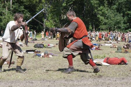 vikings: La lutte contre les Vikings � Moesgaard Moot Viking au Danemark