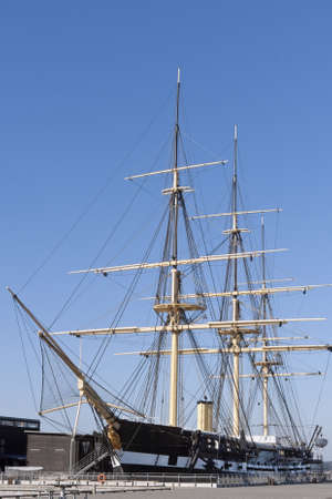 The old frigate  Stock Photo - 13095773