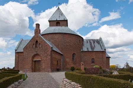 The church at Thorsager near Aarhus, Denmark