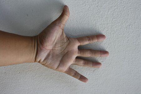hand symbol Stock Photo - 11793215