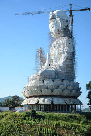 fertility goddess: With strong faith Guanyin in Thailand