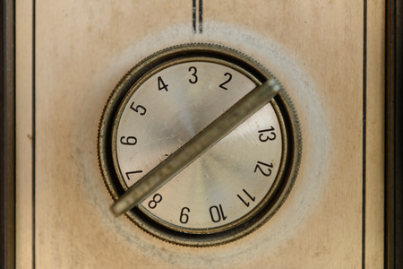 Old TV Channel Control Switch Knob