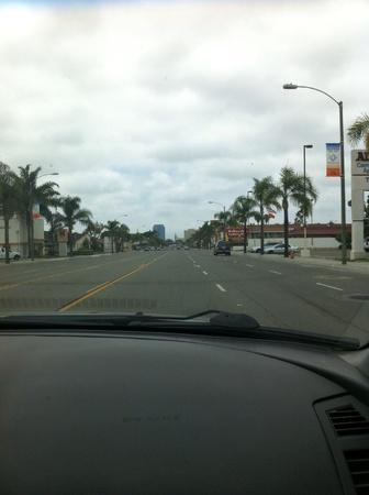Wonderful slow drive to the city  Reklamní fotografie