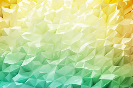 Crystal of geometric background and wallpaper. 3d rendering.