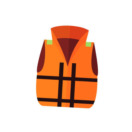 Lifevest symbol vector illustration on the white background.