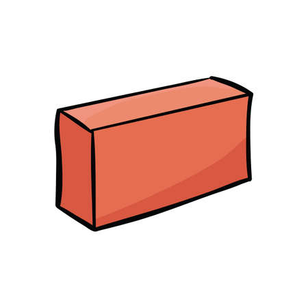 Construction isolated on a white background. Vector illustration element. Vectores