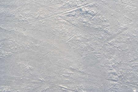 hockey sobre hielo: Patines para el hielo accidentado en el patio de recreo de hielo