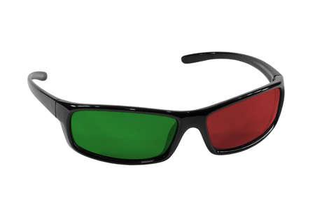 elementos de protección personal: Gafas de sol plásticos con vidrio rojo y verde