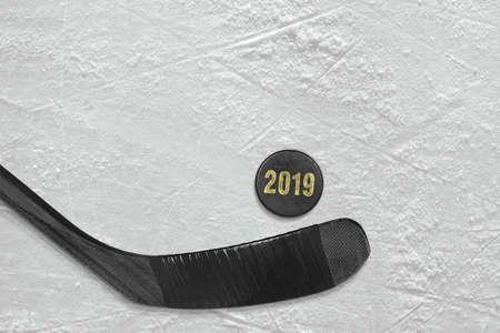 Primo piano degli accessori sportivi, la stagione del 2019. Concetto, carta da parati