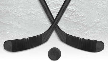 Fragment of a sports background and accessories, hockey season