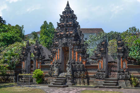 There are thousands of temples you can find on Bali and as many shrines. On both sides of this gateway to the holiest part of the temple you�ll often find statues of demon figures (raksasa). August 2015