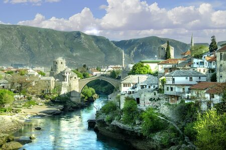 The Stari Most bridge is the most important landmarks in the city of Mostar. The bridge was destroyed then rebuilt after the war in Bosnia. Each year a competition is held for the best dive off of the bridge. Of all the places I've ever travelled, Mostar