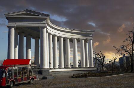 The Columns in Odessa, Ukraine