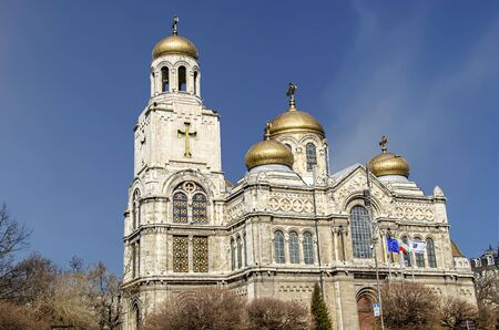 main orthodox cathedral of the town Assumption of the Virgin Mary, built in 1886