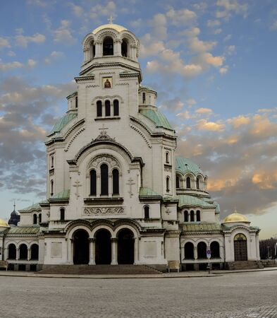 The St. Alexander Nevsky Cathedralis a Bulgarian Orthodox cathedral in Sofia, the capital of Bulgaria. Built in Neo-Byzantine style, it serves as the cathedral church of the Patriarch of Bulgaria and it is one of the largest Christian church buildings, as