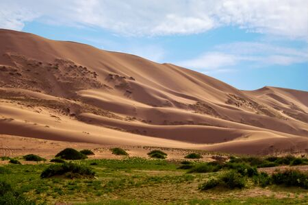 Around 350 sq. miles of Mongolian Desert. Suddenly standing out from the plains, they are undoubtedly among the most spectacular of the country.