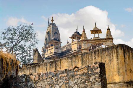 Hindu Temple At Amber Fort In Jaipur, India