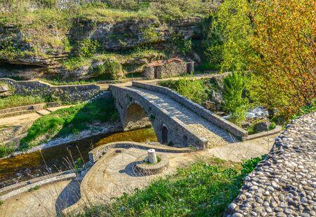 Bridge in Older part of Town of Podgorica, Montenegro