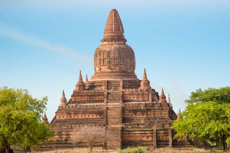 Buledi Pagoda is Best for Bagan Sunrise and Sunset Photos when in the Bagan Field of Temples