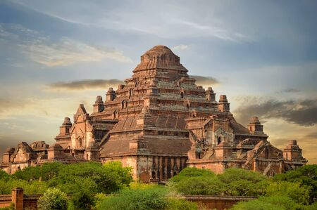 Dhammayangyi Temple is Largest of all the temples in Bagan, Myanmar