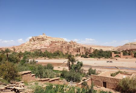 Ancient City of Ait Ben Haddour Morocco. Site of many of the worlds greatest movies.