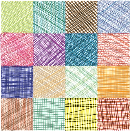 rectangle patterns: Abstract Background. Vector Illustration