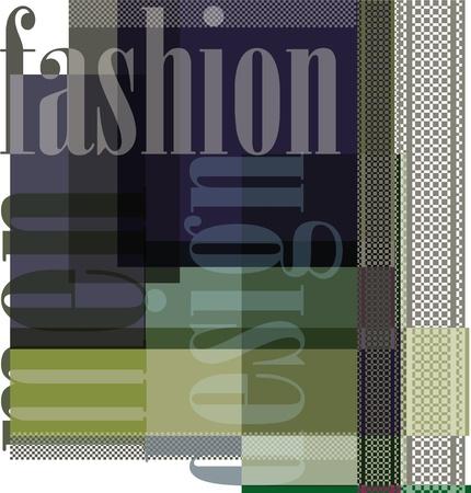 Los hombres de moda de diseño de fondo