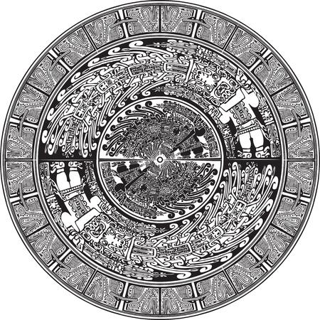 inka: American culture background. Vector illustration