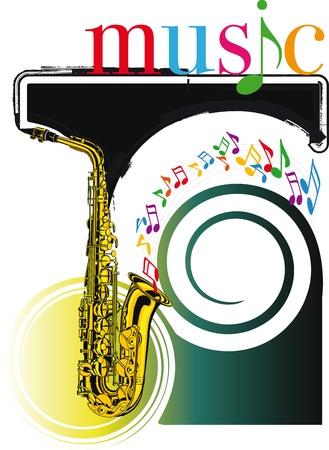 music festival. Vector illustration Stock Vector - 10806836