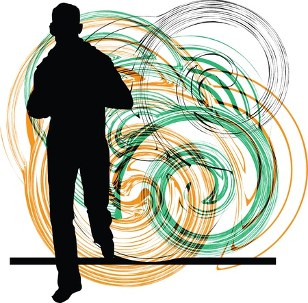 Teenagers illustration Vector